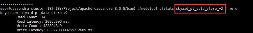 《[Cassandra教程](十五)使用nodetool 进行监控之初步使用》